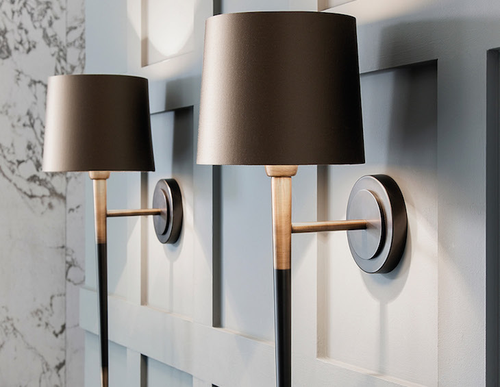 eathfield & Co Veletto Wall Light