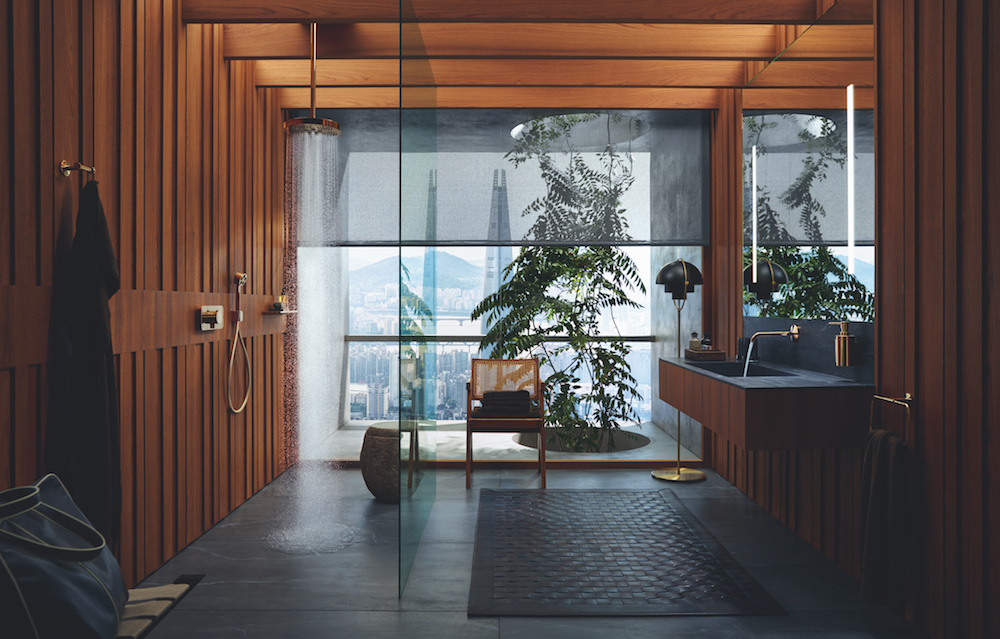 Image of luxe lifestyle bathroom