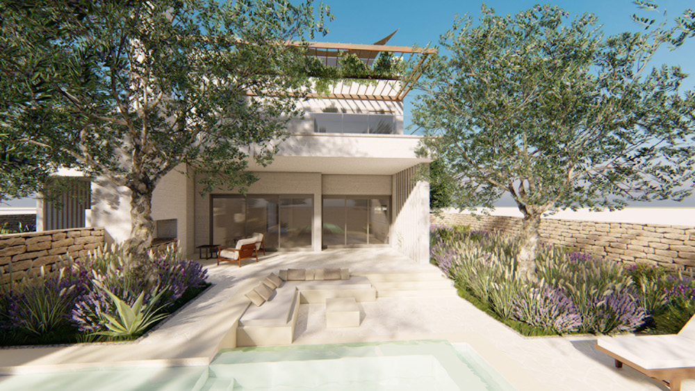 Four Seasons render of villa in southern Italy