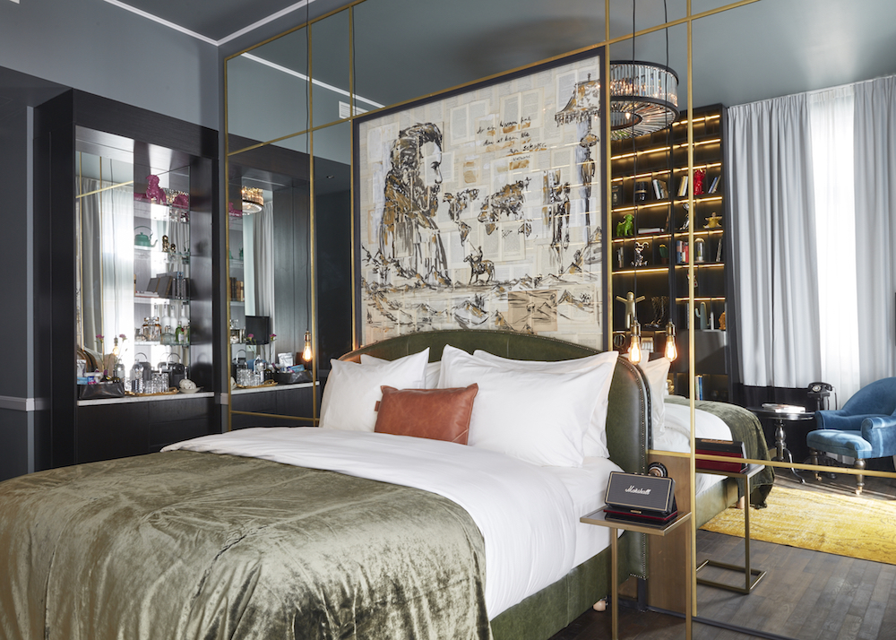 A rich narrative told in the interior design inside Sir Savigny Berlin