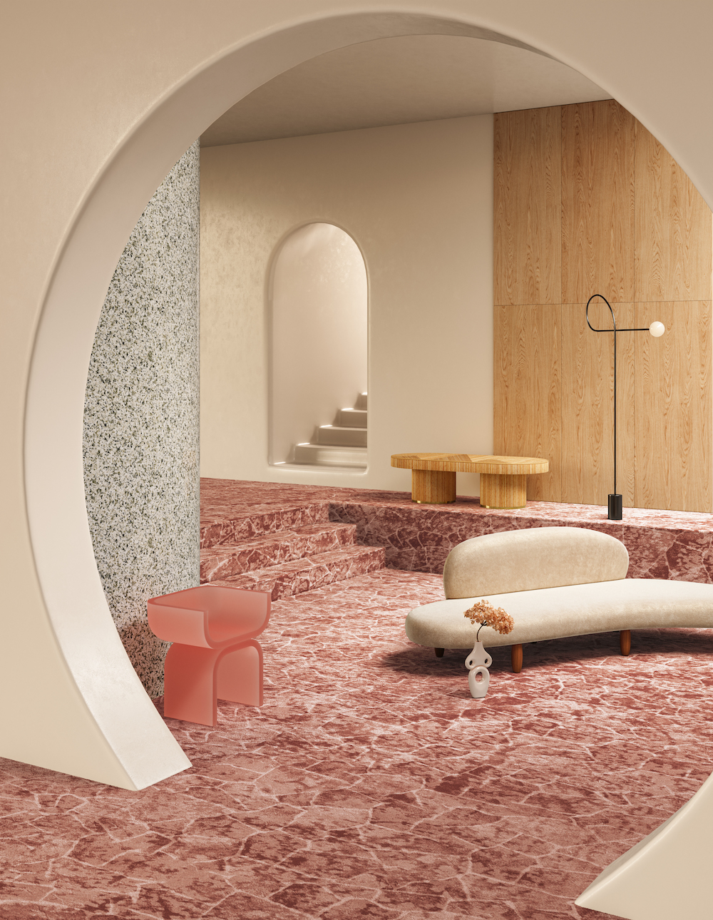 TSAR Carpets X Nova Visulas _ Desert Spring
