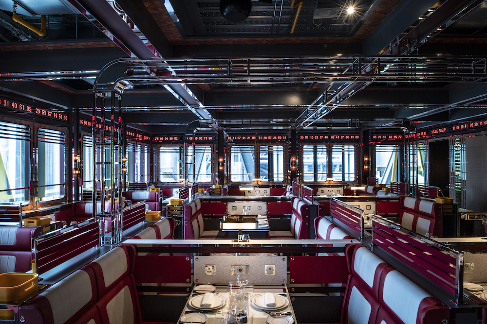Image caption: Bob Bob Cite restaurant | Image credit: Dernier & Hamlyn