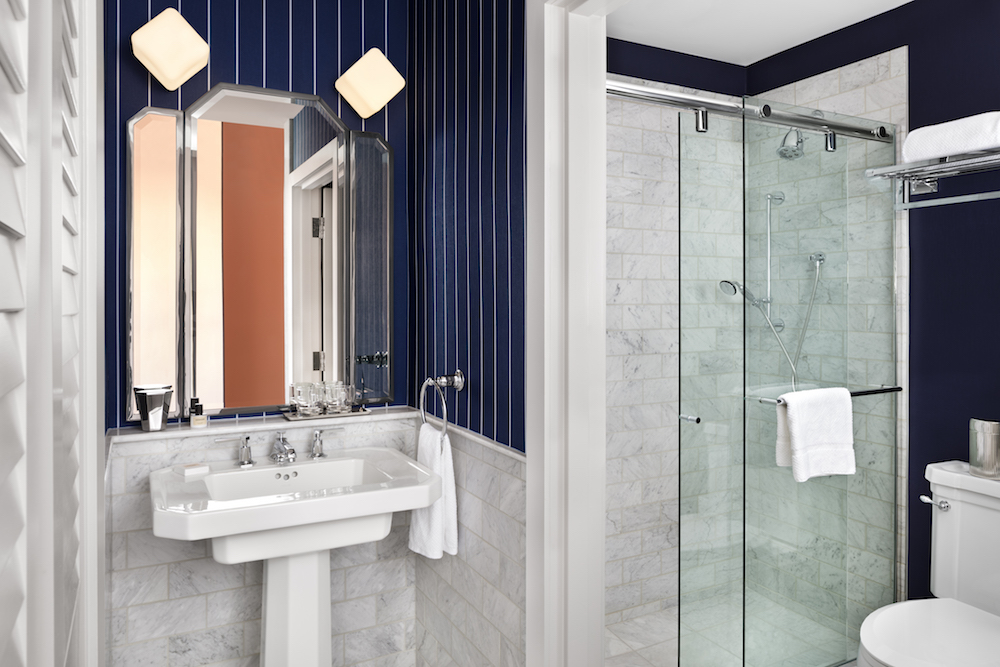 Image credit: Luxurious bathrooms inside the hotel. | Image credit: Riggs Washington D.C.