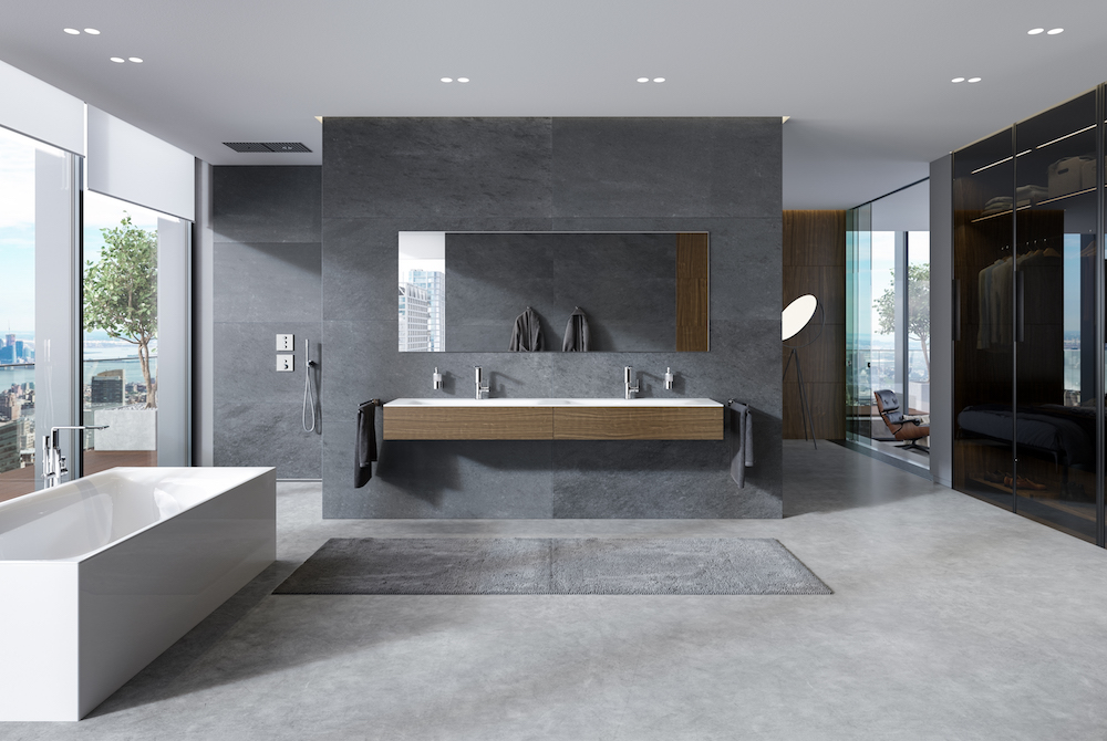 Image caption: As part of the launch, GROHE unveiled the latest innovations in the GROHE Spa collection