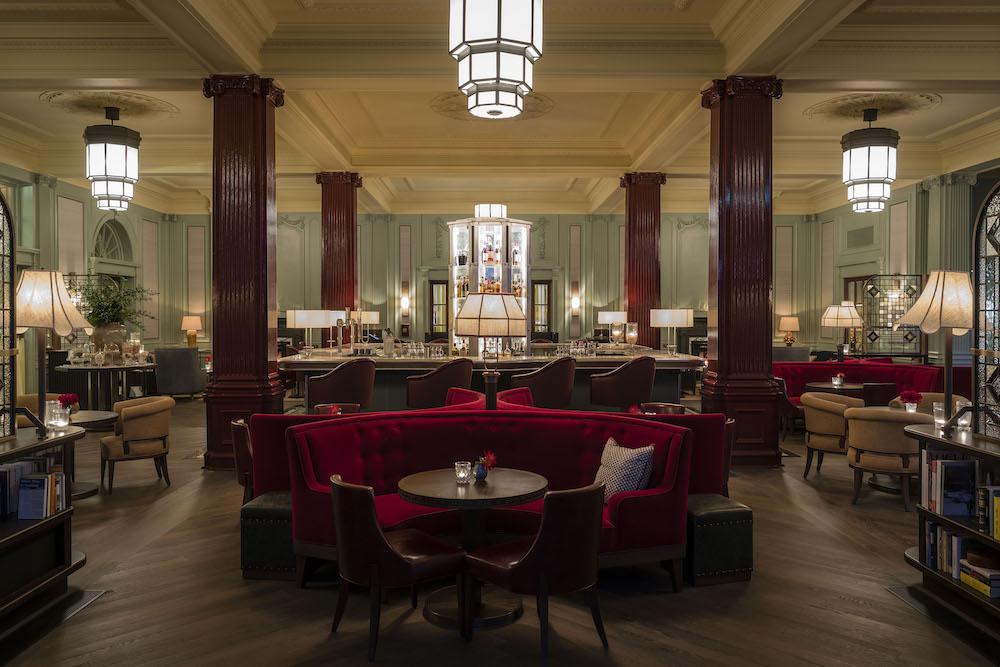 Image caption: The Century Bar, Gleneagles | Image credit: Dernier & Hamlyn
