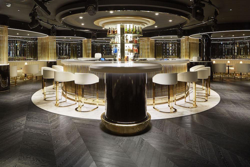Image caption: Bar area inside Grantley Hall | Image credit: Havwoods