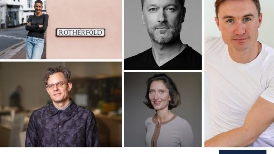 Collage of speakers for Hotel Designs LIVE Sustainability talk