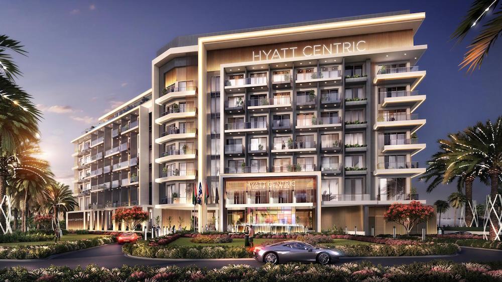 Image caption: Rendering of Hyatt Centric Jumeirah Dubai | Image credit: Hyatt Hotels