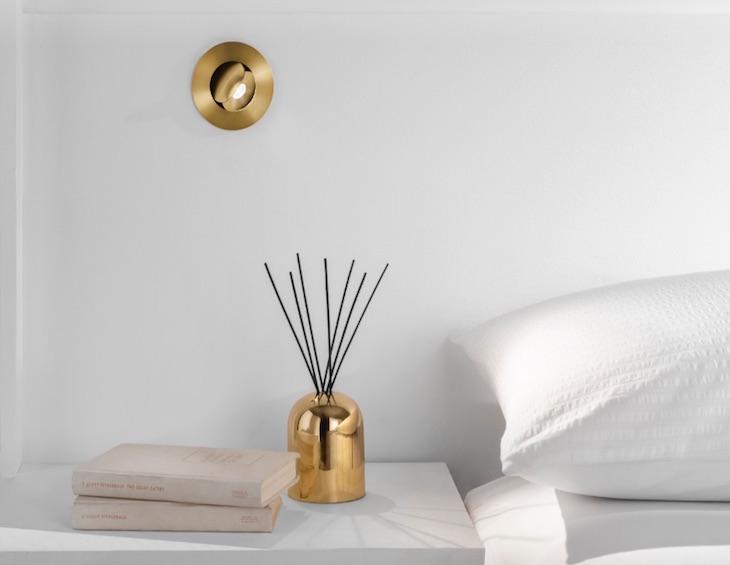 Image of LED Eye in modern bedroom