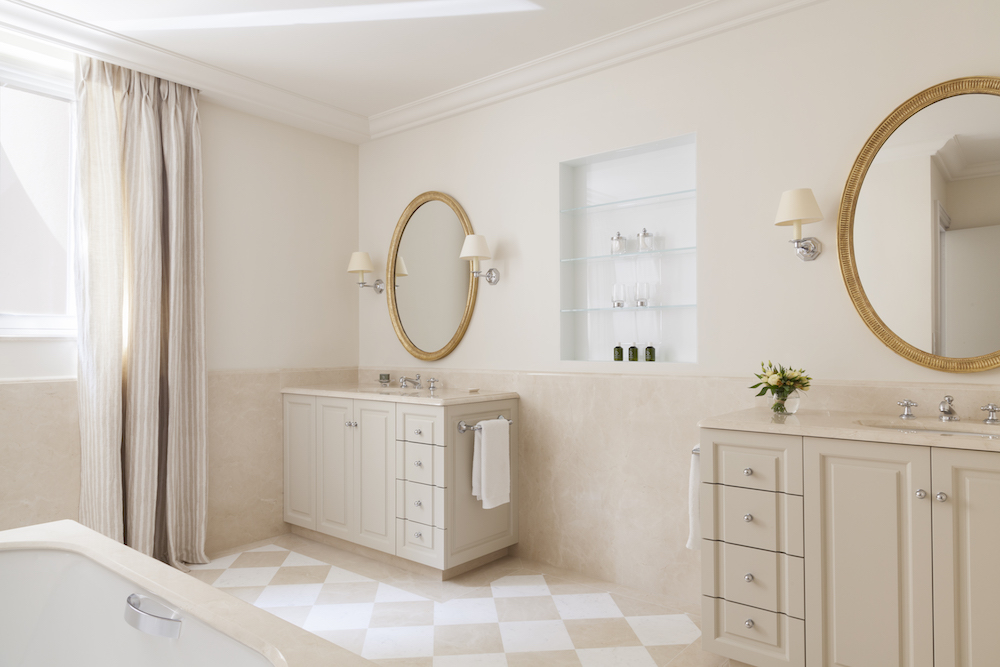 Image credit: Le Bristol Paris Suite, with lighting supplied by Vaughan