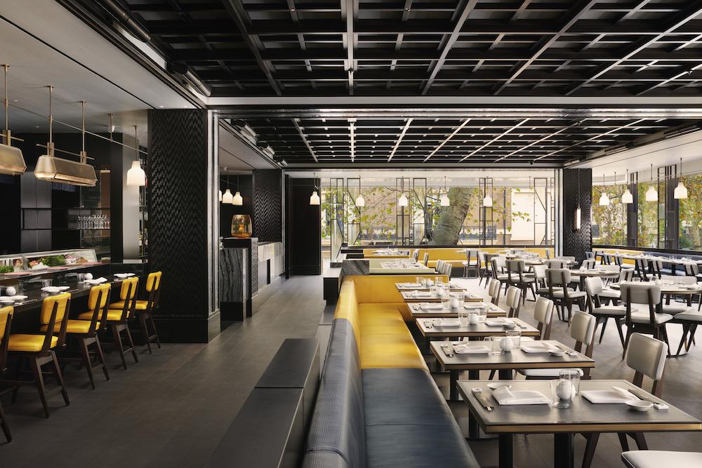 Image caption: Nobu Restaurant inside Nobu London Portman Square. | Image credit: Jack Hardy