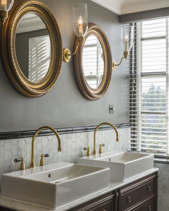 Image credit: Gleneagles bathrooms, with lighting supplied by Vaughan