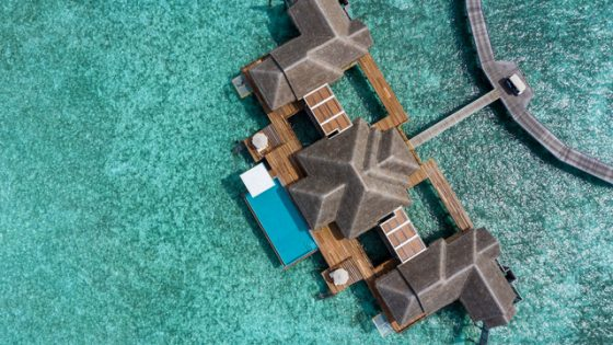 Birdseye view of Private Pool Residences Collection residence