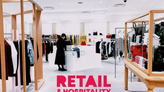 Image of shop with Retail & Hospitality Design logo