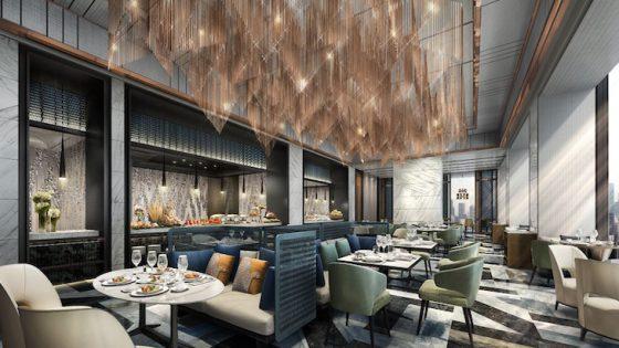 Image of luxury Marriott f&b arae
