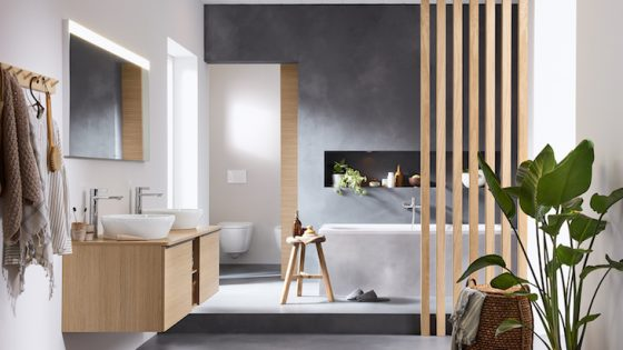 Image of the D-Neo from Duravit in modern bathroom