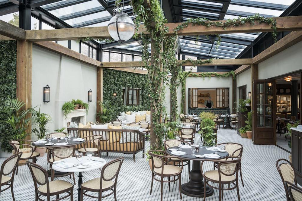 Image of green, chilled brasserie in Gleneagles