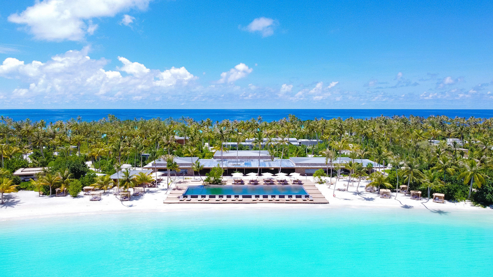Establishing shot to show architecture of Image credit: Patina Maldives, Fari Islands