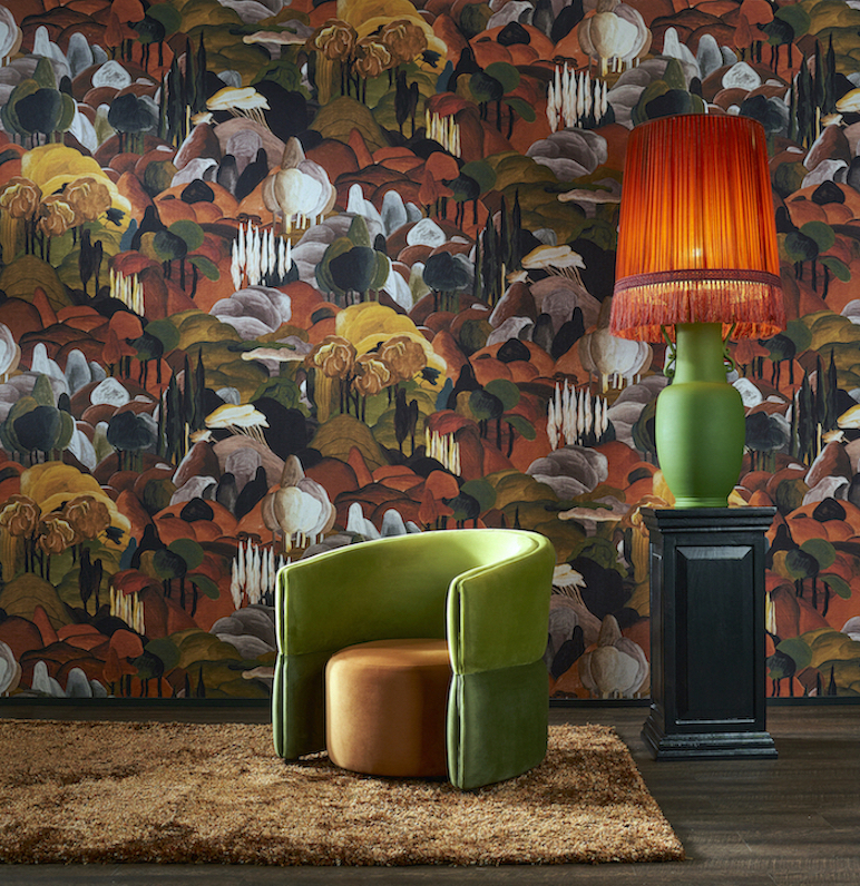 Image caption: Decors and Panoramiques is an eye-catching, lively wallcoverings collection. | Image credit: Arte