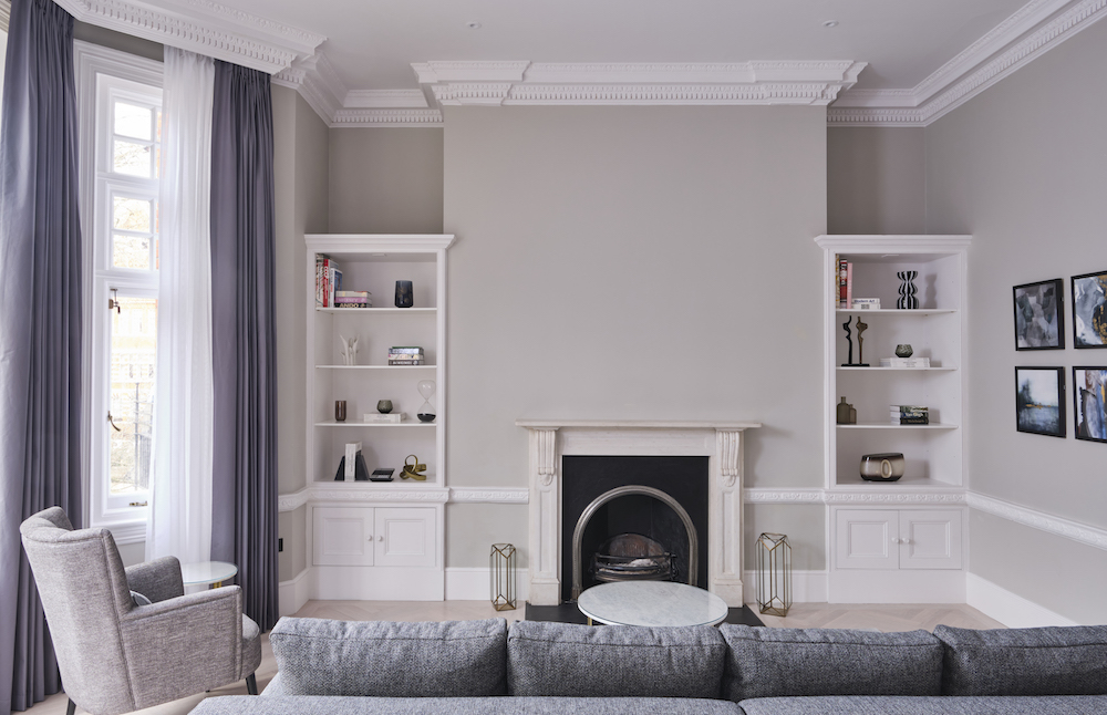 Lounge in 11 Cadogan Gardens appartment