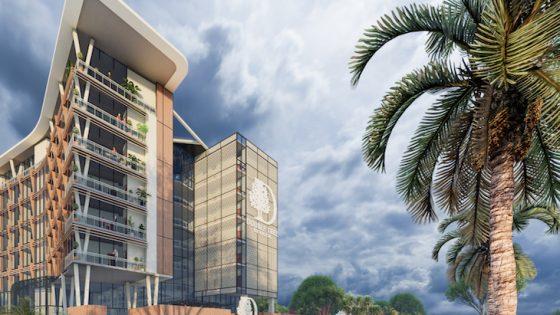 rendering of DoubleTree by Hilton in Pakistan