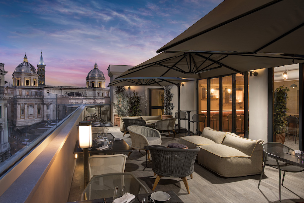 Rooftop over Rome from DoubleTree by Hilton hotel