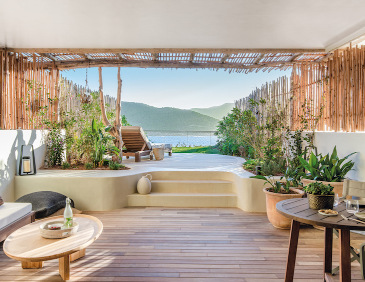 Image of suite inside Six Senses Ibiza