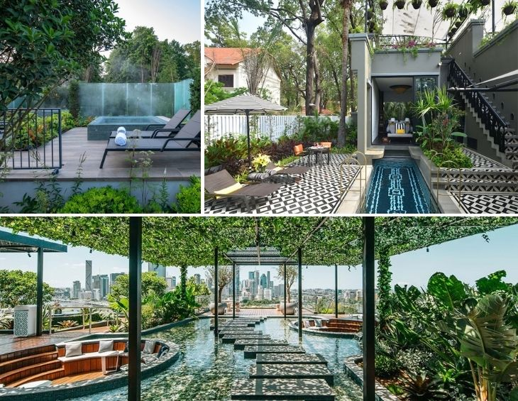Image of various landscape architecture projects