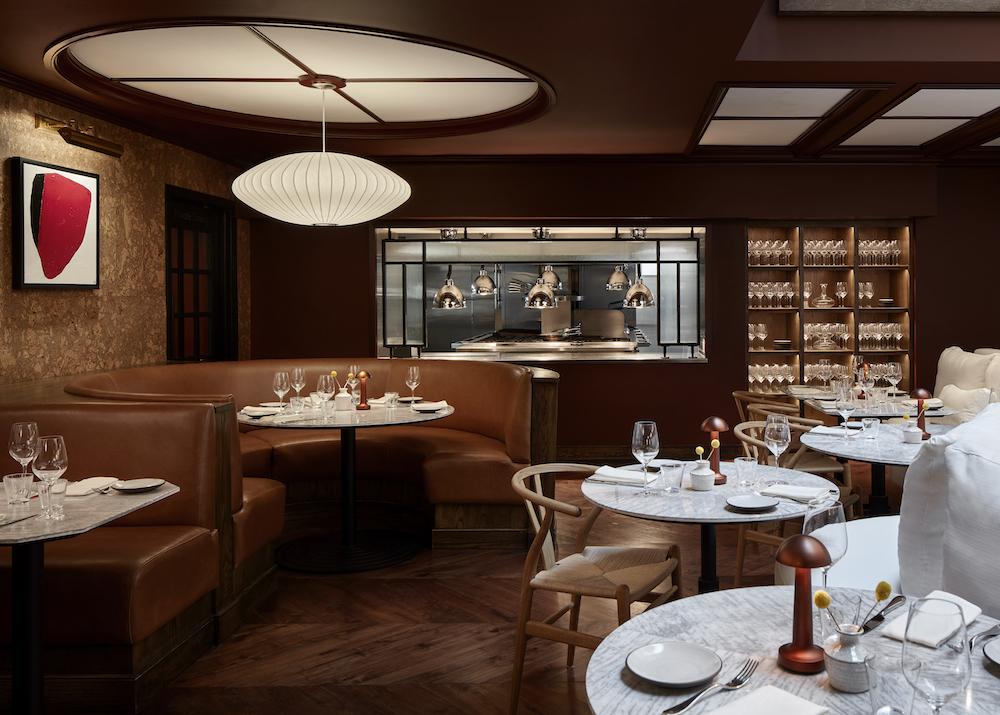 Image of dining area inside LYLE Washington