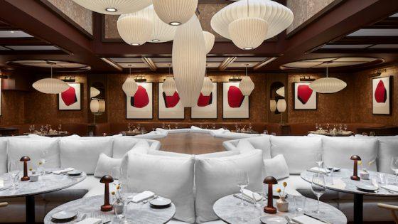 Image of fine dining experience at LYLE Washington