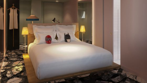 Image of guestroom in Mama Roma