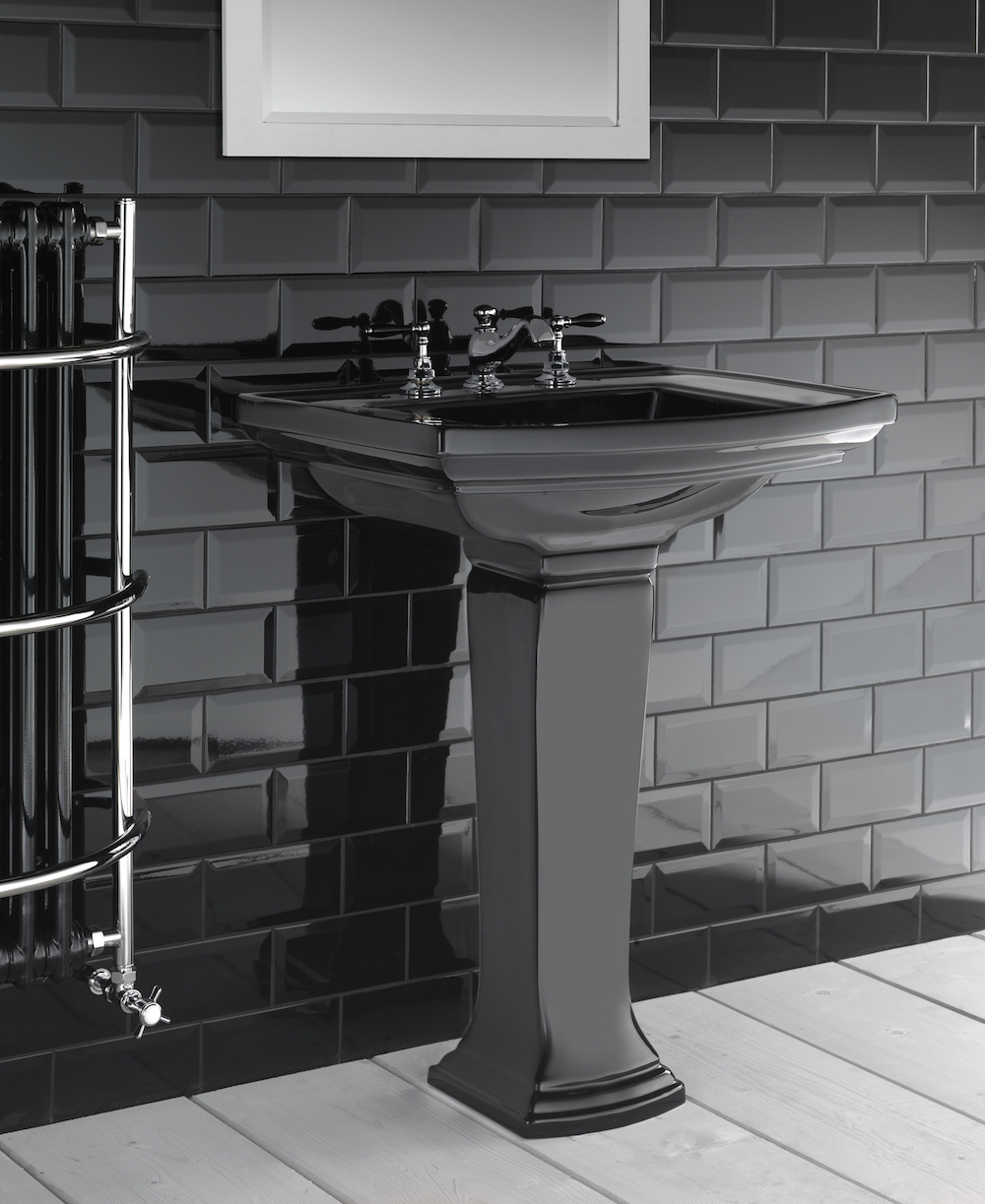 Image caption: Radcliffe large pedestal basin by Imperial Bathrooms