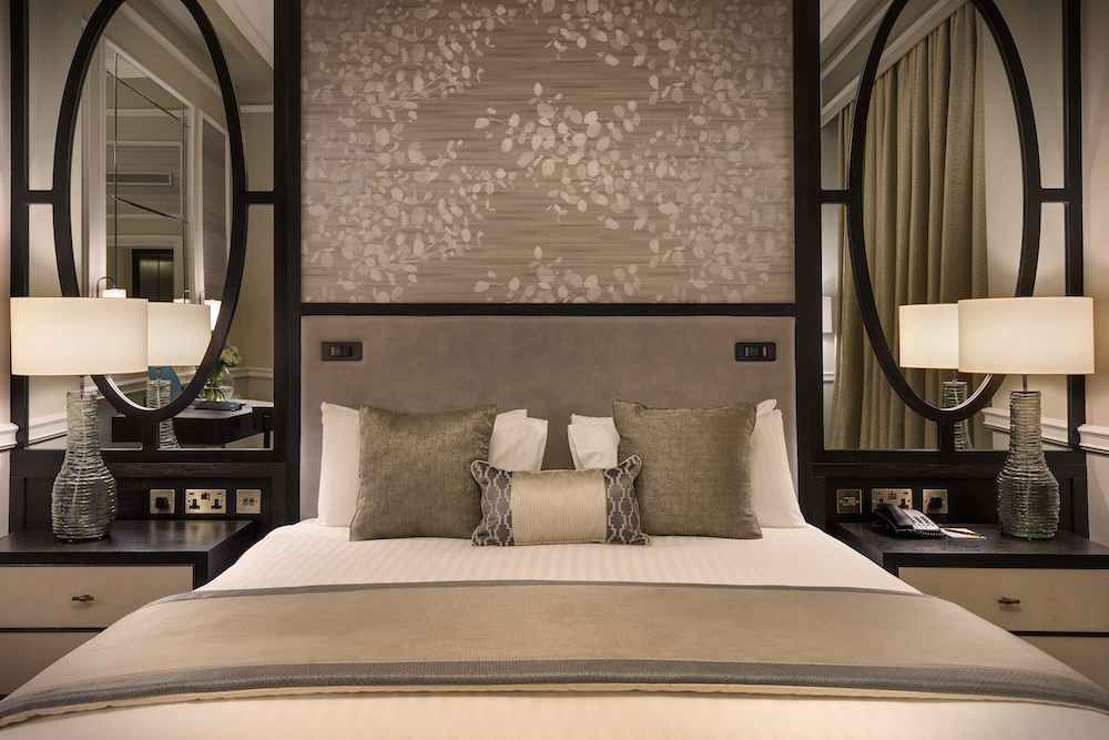 Image of luxury bed at The Midland Hotel