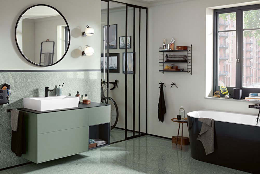 Image of modern bathroom design