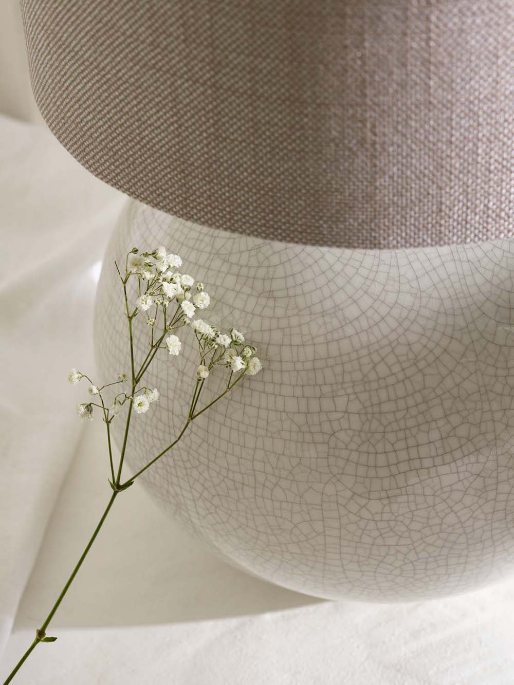 03. Heathfield & Co Camellia Table Lamp