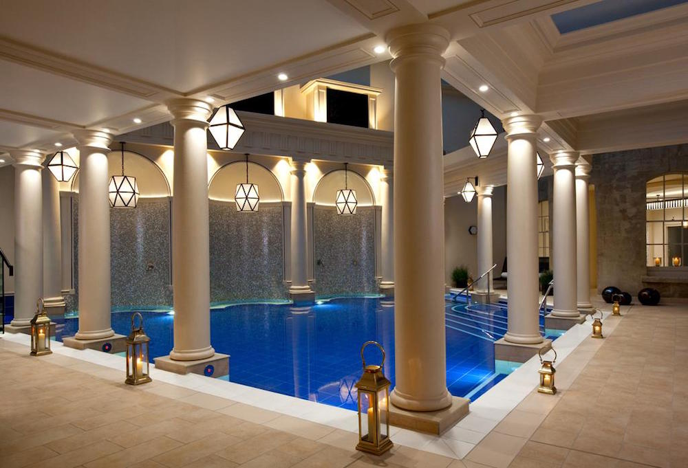 The hotel spa at The Gainsborough Hotel & Spa