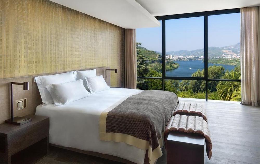 Guestroom at Six Senses Douro Valley