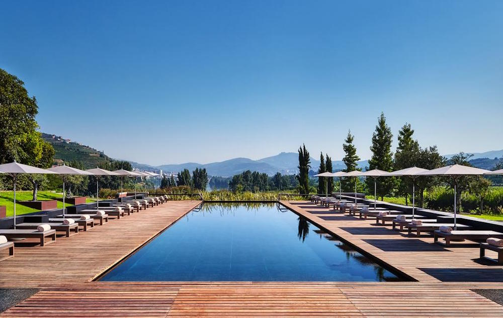 Pool at Guestroom at Six Senses Douro Valley