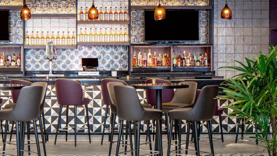 Lobby-Bar crop Hyatt House Tampa