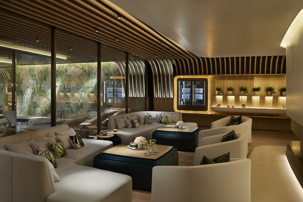 Relaxation area at The Spa at 45 Park lane