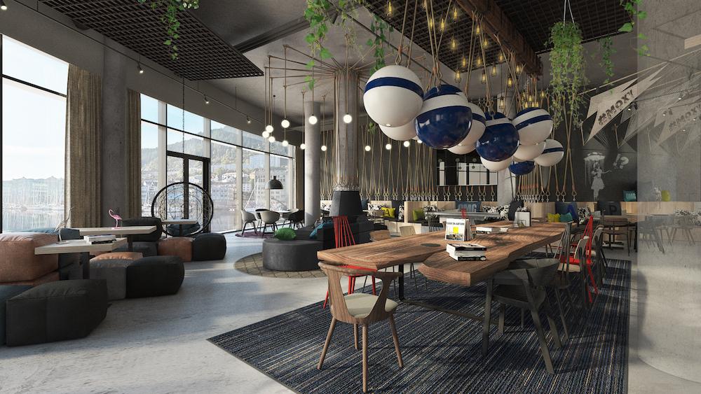 Moxy Bergen interior public areas - Hotels opening in June