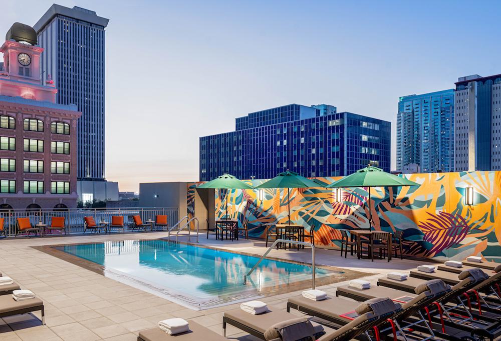 Pool at Hyatt House in Tampa