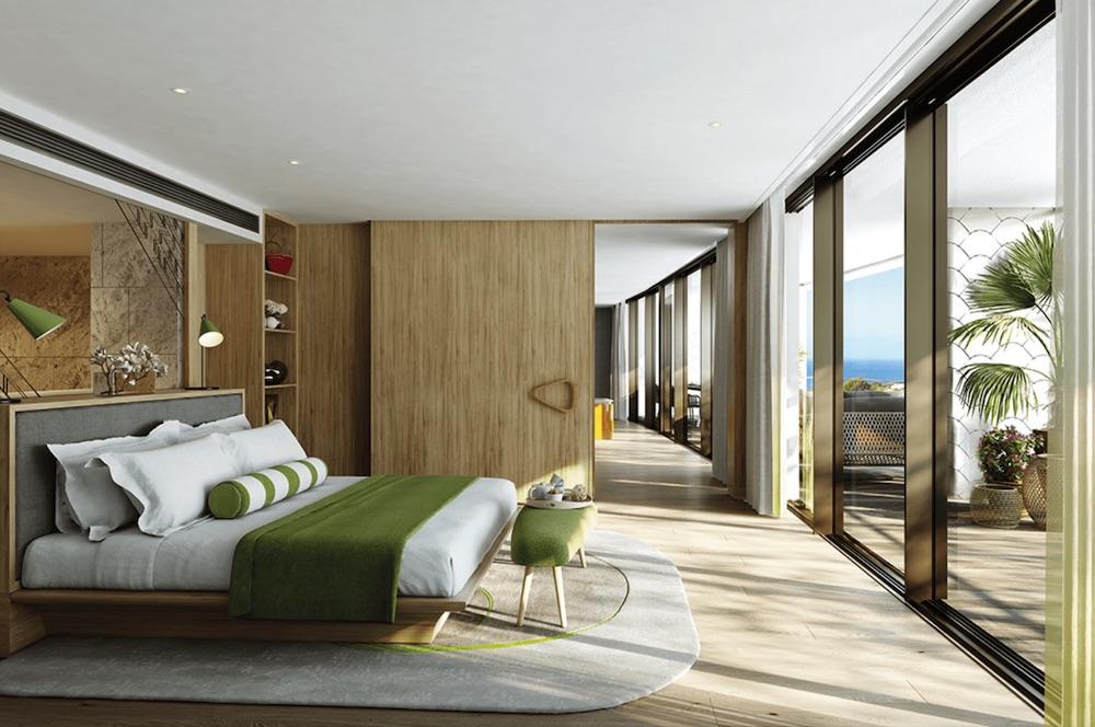 Guestroom concept inside W Algarve