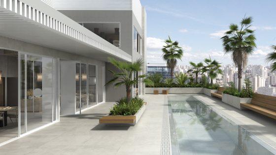 Render of luxury rooftop property