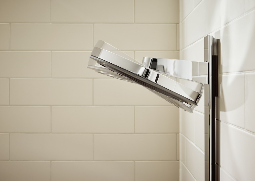 Image to show flexibility of hansgrohe product