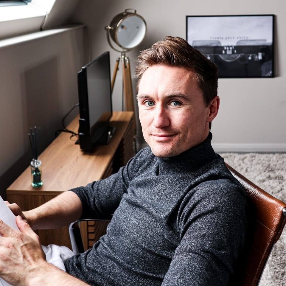 Editor Hamish Kilburn headshot