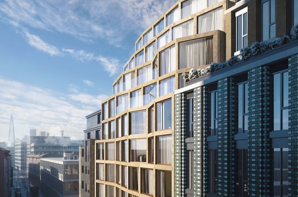 Image caption: Understanding sense of place, Jestico + Whiles' design for a new-build hotel on Paul Street, London, responded directly to the area's architectural and cultural context in the heart of Shoreditch.