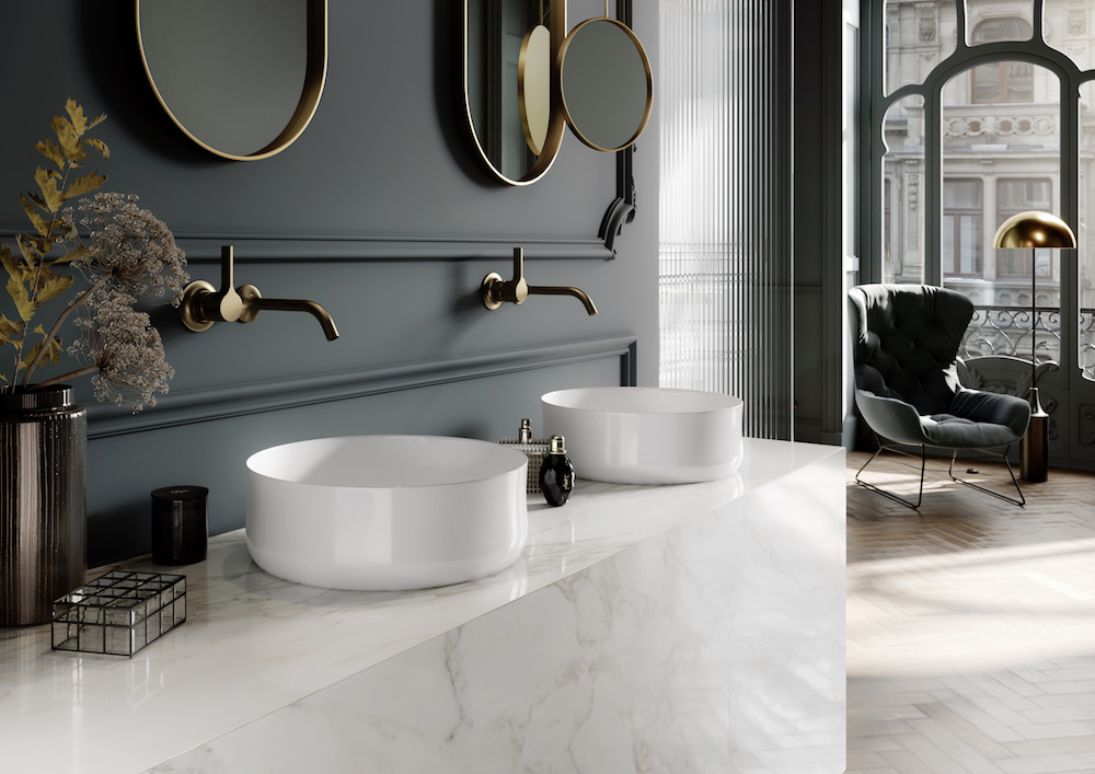 Image caption: The new Ming washbasin bowl features a flawlessly glazed surface. Its shape reflects both the traditional and the modern. | Image credit: Kaldewei