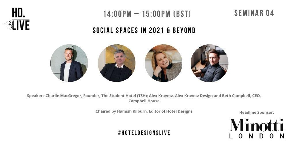 Hotel Designs LIVE - social