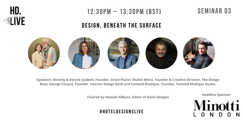 Hotel Designs LIVE – surfaces session